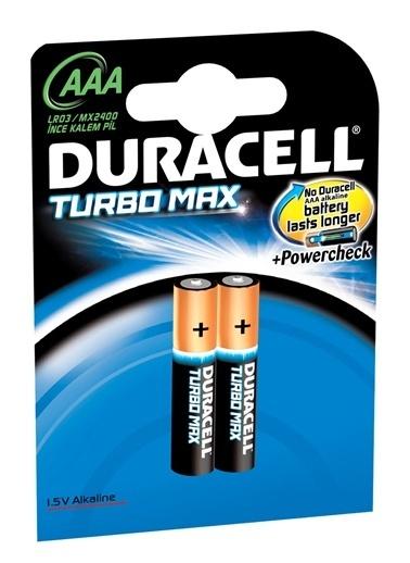 Duracell Turbo Max Alkalin Aaa İnce Kalem Pi,RNKL Renkli